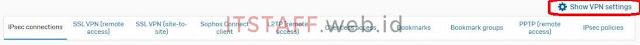 Show VPN Settins - ITSTAFF.web.id