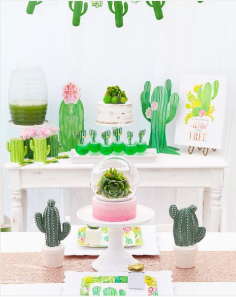 101 fiestas fiesta tem tica cactus for Cactus decoracion