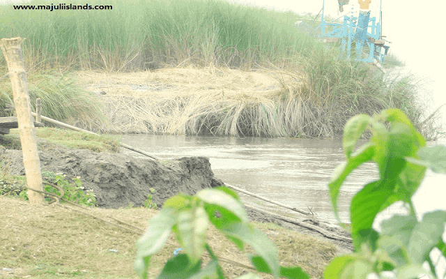 Problems Of Majuli Island In The Different Department