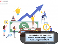 Metro Payment Indotama Tak Kalah dari Permata Reload sebagai Server Pulsa All Operator Murah