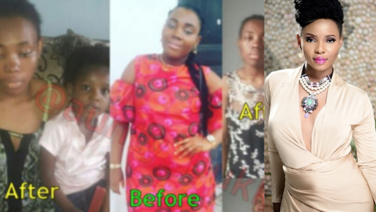 Yemi Alade Agrees To Assist A Sick Woman Who Needs N6m After Her Husband Dumped Her (Photos)