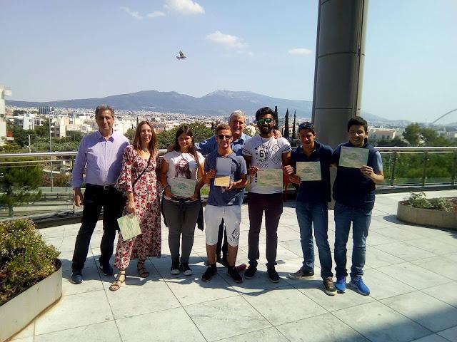 Απονεμήθηκαν τα βραβεία στο 1ο ΕΠΑ.Λ. και στο 1ο Ε.Κ. Άργους για την «Φύλο και χημικές ουσίες»