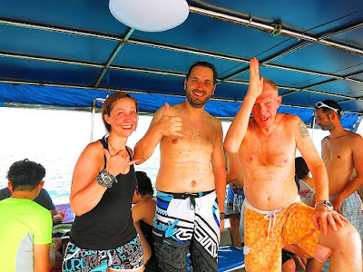 PADI IDC on Koh Lanta, Thailand for April 2018 has been completed