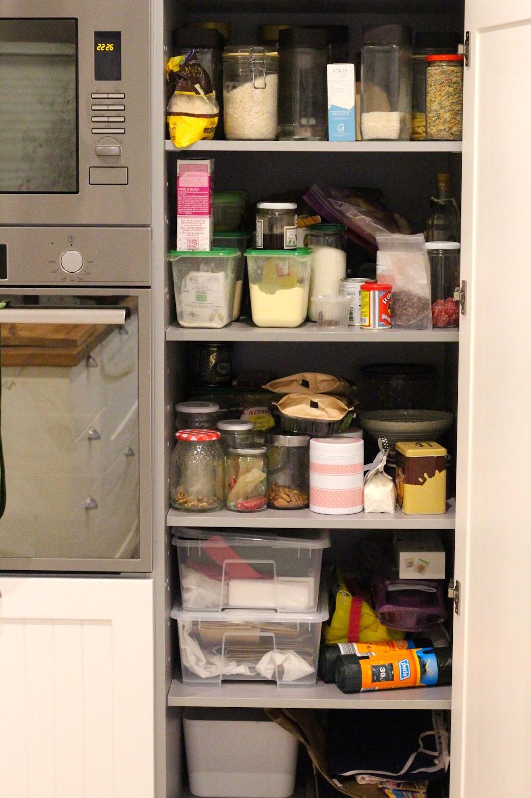 cá de casa: Como conseguir mais e melhor arrumação na cozinha #B99A12 1066 1600