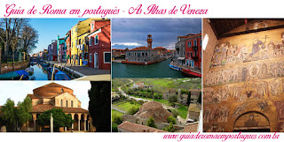 Paseios Veneza Ilhas Veneza - Guia de turismo em Veneza