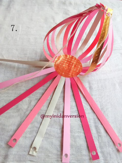 How To Make Paper Lantern : Step 7