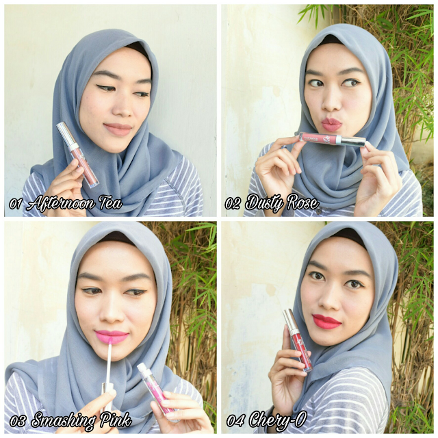 Review MaxUp Suede Matte Lip - Ultra Smooth Matte Lip Cream