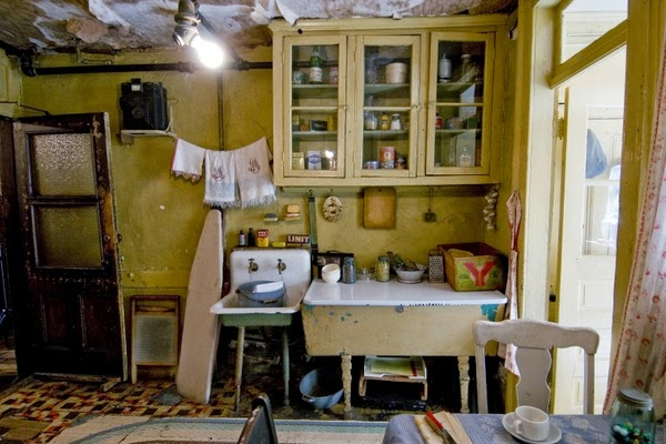 Baldizzi kitchen at Lower East Side Tenement Museum in NYC