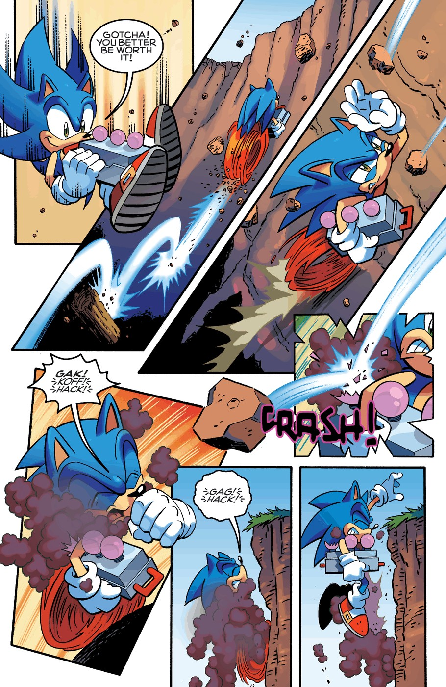 Read online Sonic The Hedgehog comic -  Issue #254 - 18