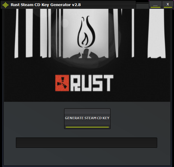 Rust Steam CD Key Generator Updated v2 8 ! Mediafire Link