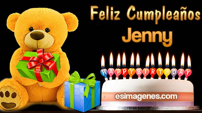 Feliz cumpleaños Jenny