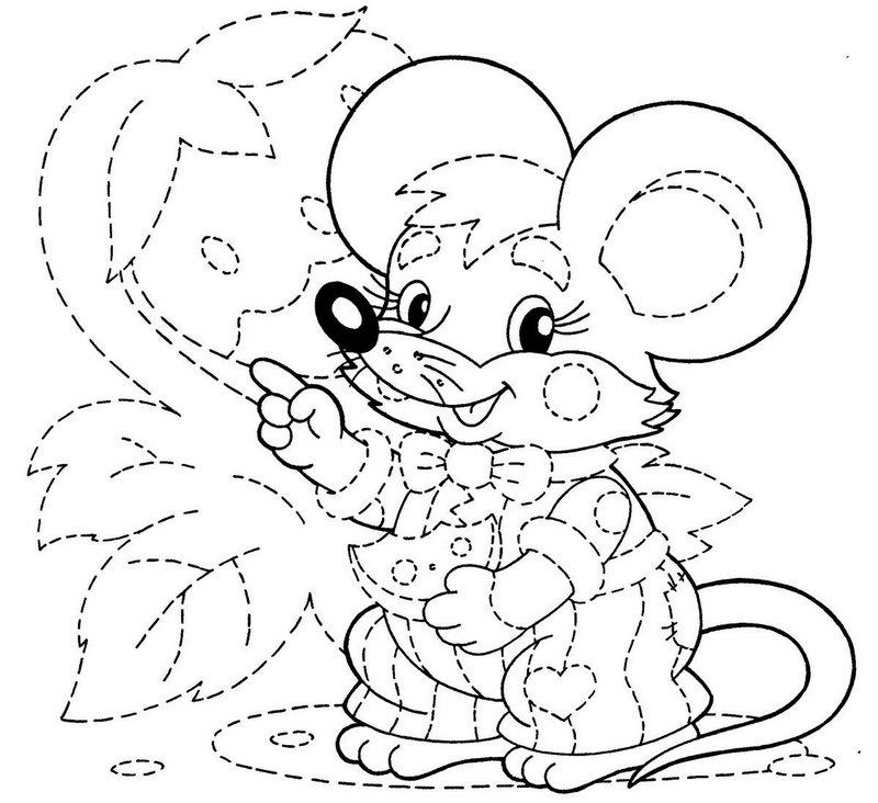 ratón unir puntos