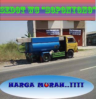 Sedot WC Murah Kalirungkut Surabaya, 082240953999