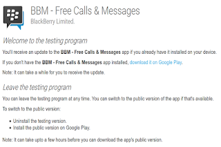 BBm beta version