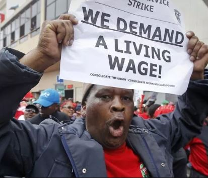South Africans are angry as government sets minimum wage at $278 per month