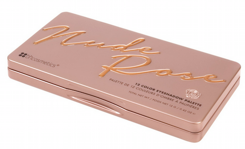 Bảng Phấn Mắt BHCosmetics Nude Rose 12 Color Eyeshadow