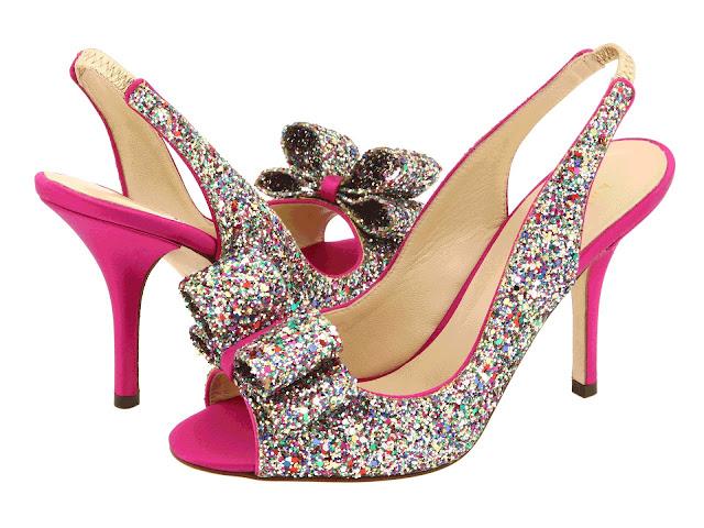 kate spade charm slingback heel