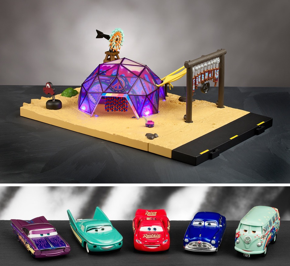 High End Precision Series Die Cast Cars Characters Play Sets