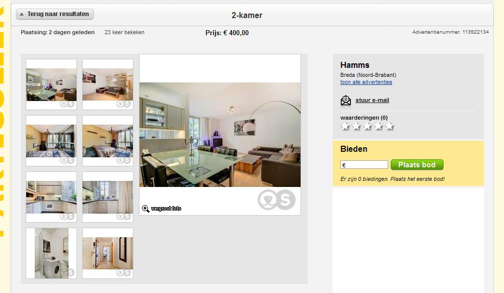 attraktive 2 zimmer wohnung kaltmiete 400 00 zzgl nebenkosten. Black Bedroom Furniture Sets. Home Design Ideas