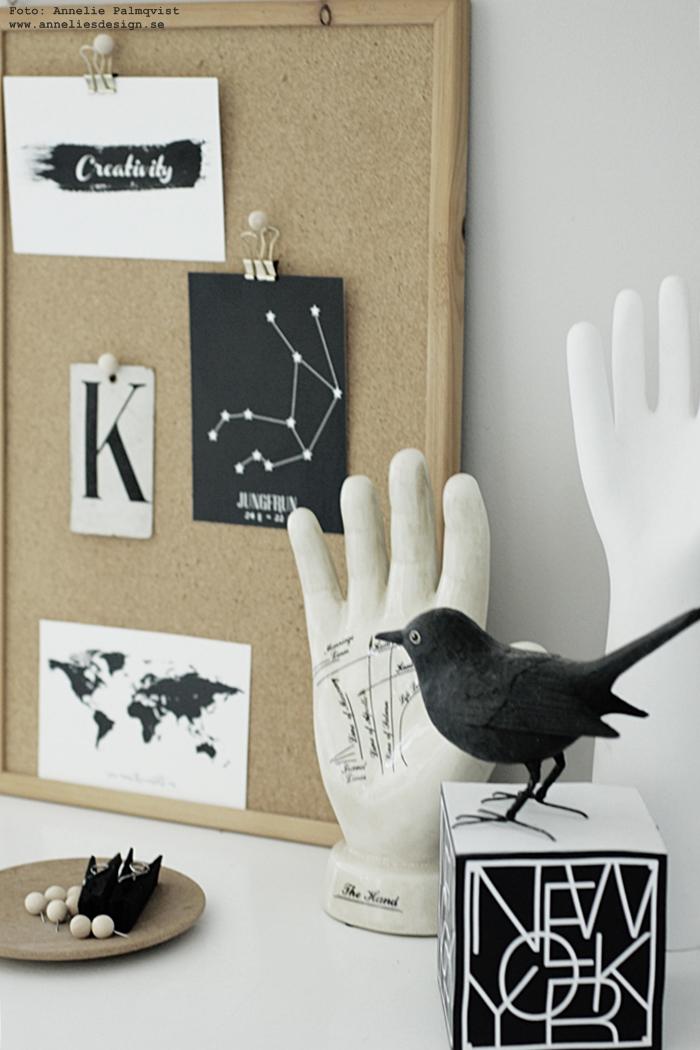 annelies design, webbutik, inredning, vitt,  vykort, stjärntecken, svartvit, svartvita, svart och vitt, konsttryck, tavlor, kork, pins, pin, trä, trären, trärena, trärent, koltrast, memoblock, städer, new york