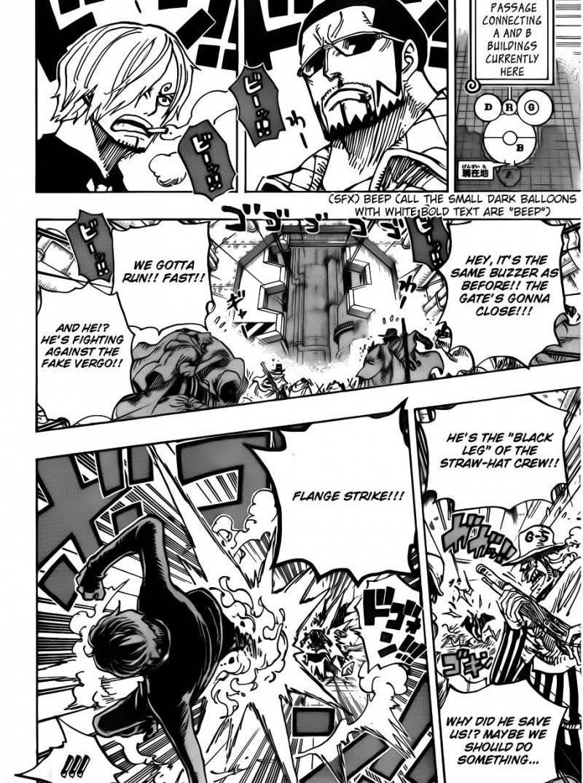 One Piece 681 : Luffy vs. Master