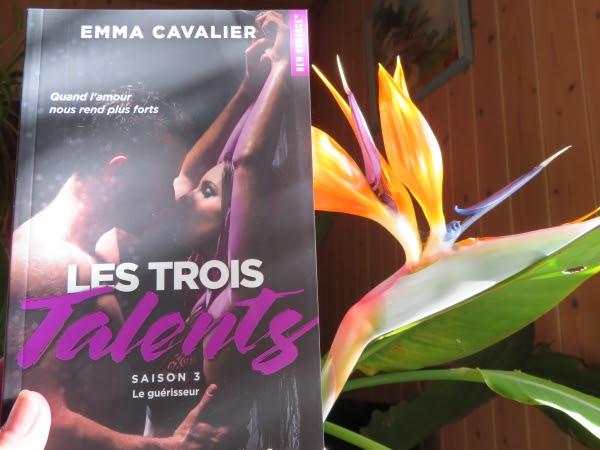Les trois talents, tome 3 : Le guérisseur de Emma Cavalier