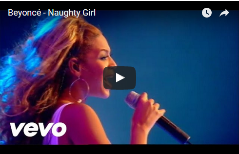 Watch :: Beyonce - Naughty Girl