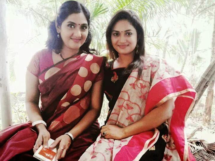 Malayalam Actress Arya Image: Arya Sreeram New Saree Photos Malayalam Serial Actress