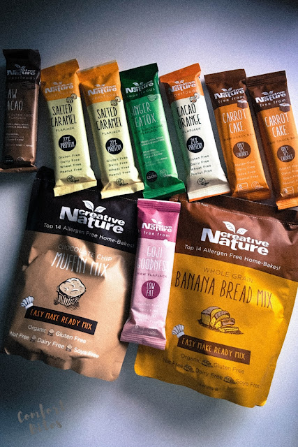 creative nature baking mixes and snacks