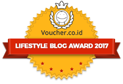 Juara 3 Lifestyle Blog Awards 2017