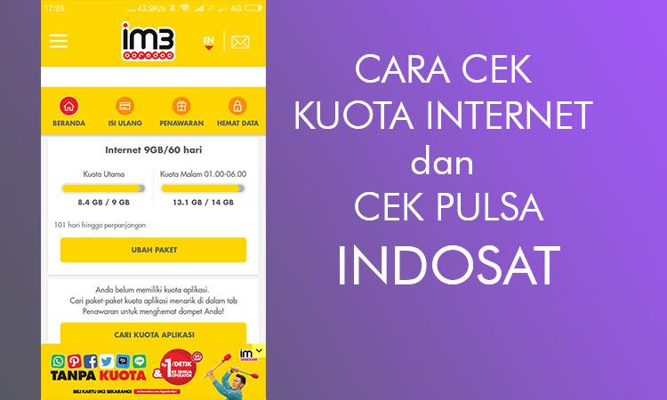 Provider Indosat mungkin saja menjadi pilihan gres Anda Cara Cek Kuota Internet Indosat, dan Cek Pulsa Terbaru 2017