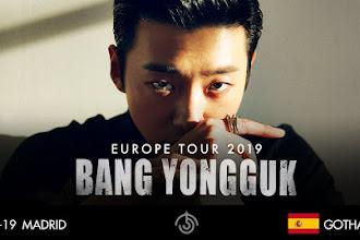 [TOUR] Bang Yongguk 방용국  en Madrid el 24 de Marzo