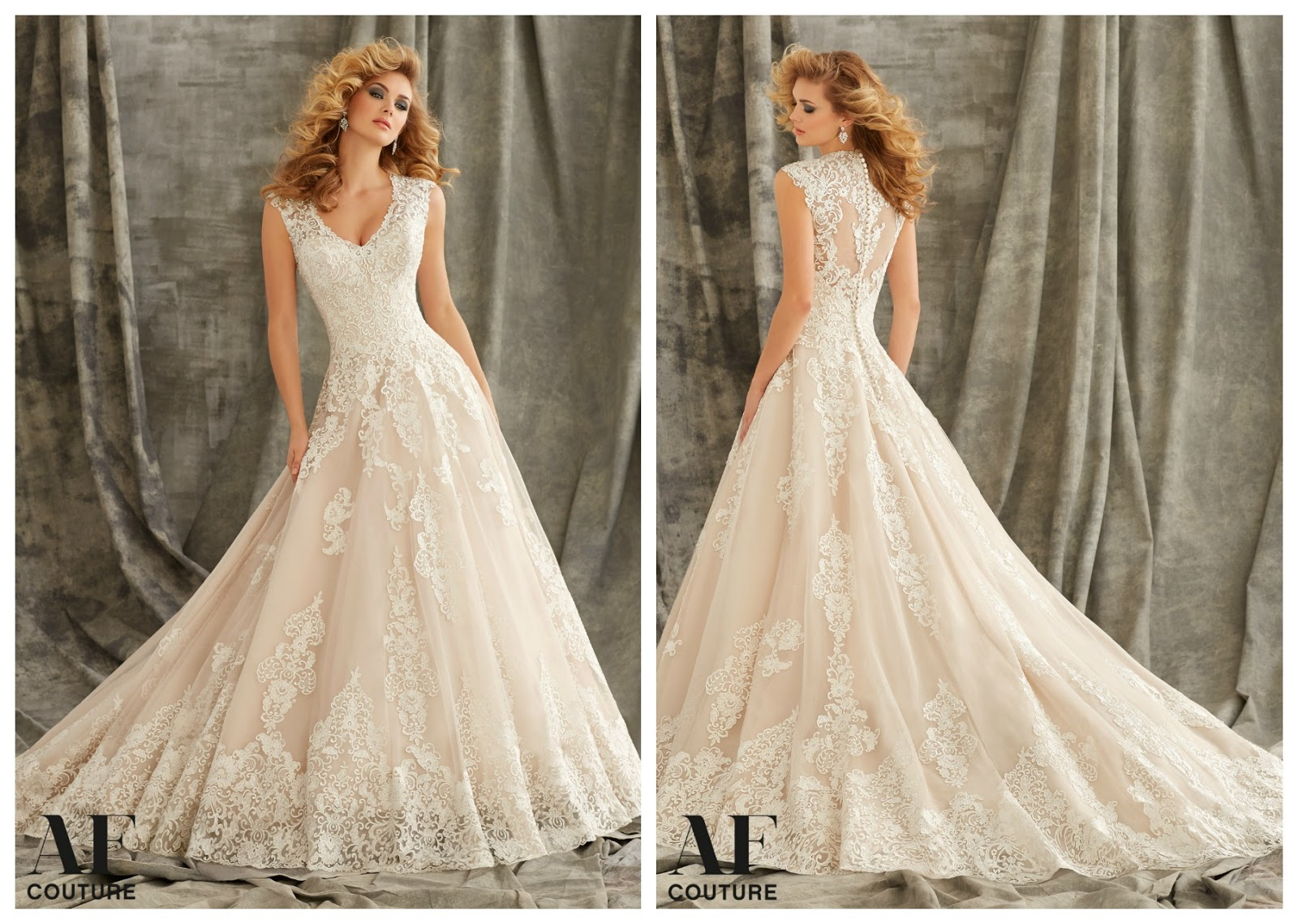 Brides of america online store these 2016 af couture by for Coming to america wedding dress