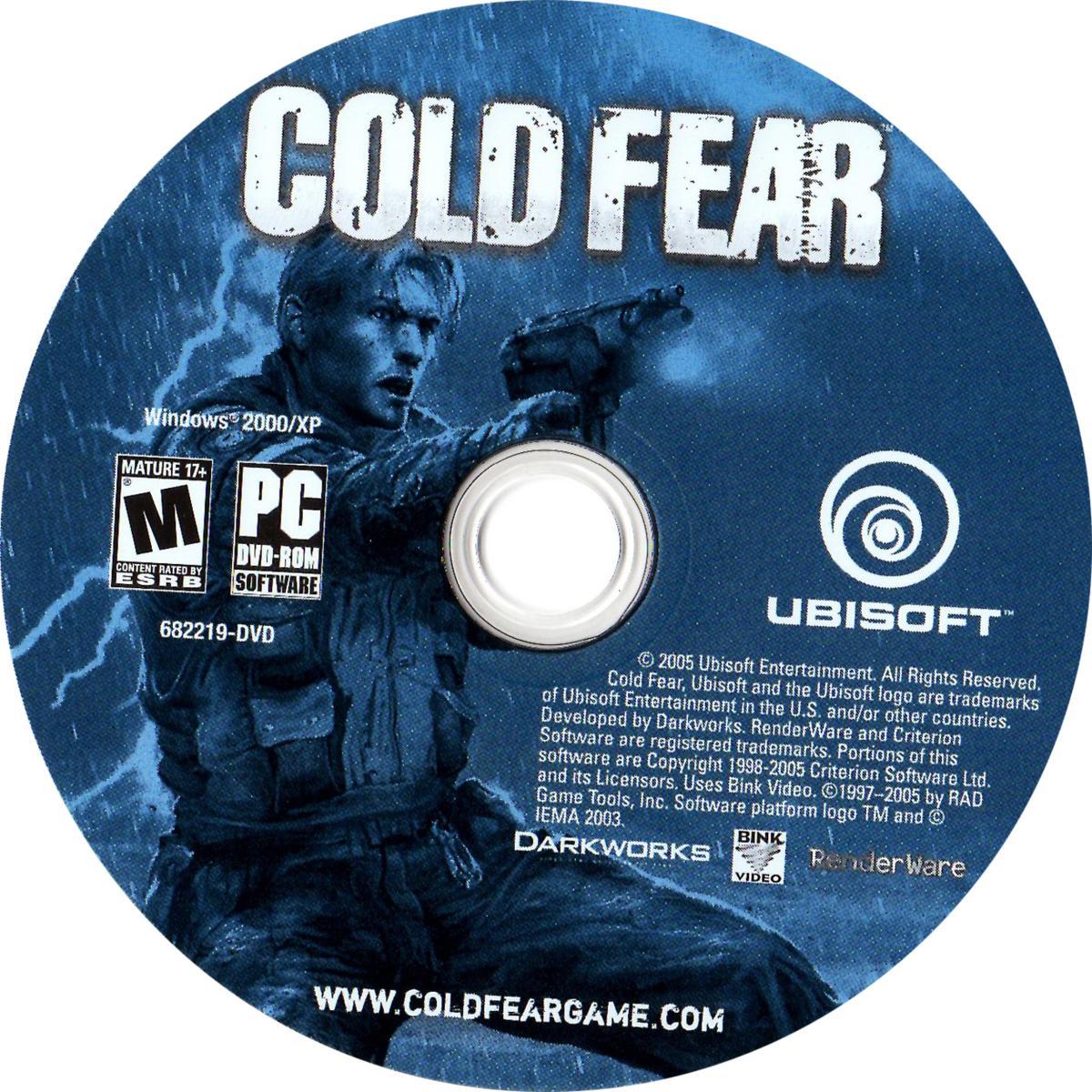 Label cold fear pc gamecover capas customizadas para - Exclusivas fecar ...