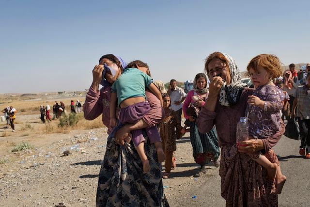 العدالة لا تزال بعيدة المنال بالنسبة للمرأة الإيزيدية