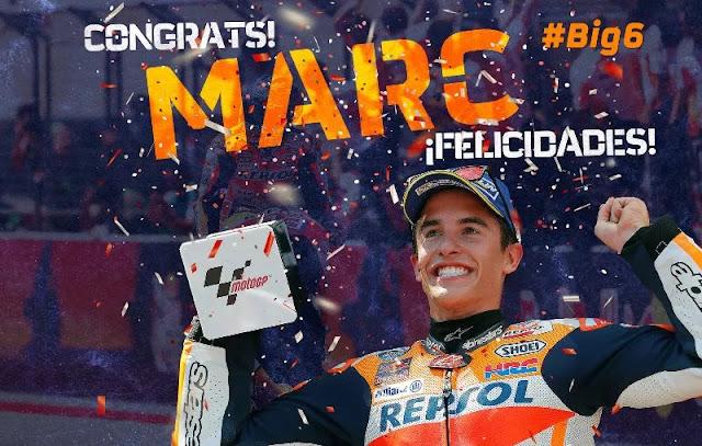 Barcelona Beri Ucapan Selamat Buat Marc Marquez Berita Terhangat Marc Marquez Juara Dunia MotoGP 2017