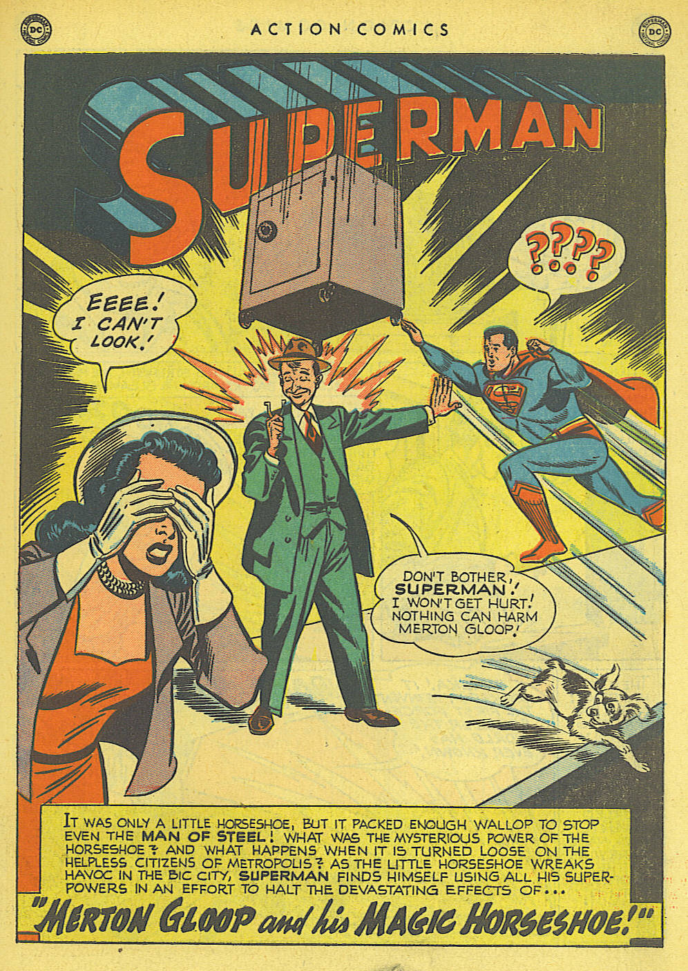 Read online Action Comics (1938) comic -  Issue #145 - 2