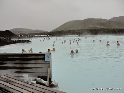 scenic of Blue Lagoon in Iceland