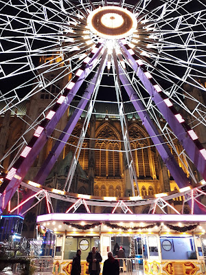 Grande roue Metz week end Noel