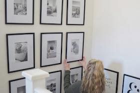 DIY gallery wall layout ideas