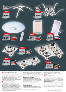 CATALOG KIKA Black Friday 2018 plafoniere si lustre