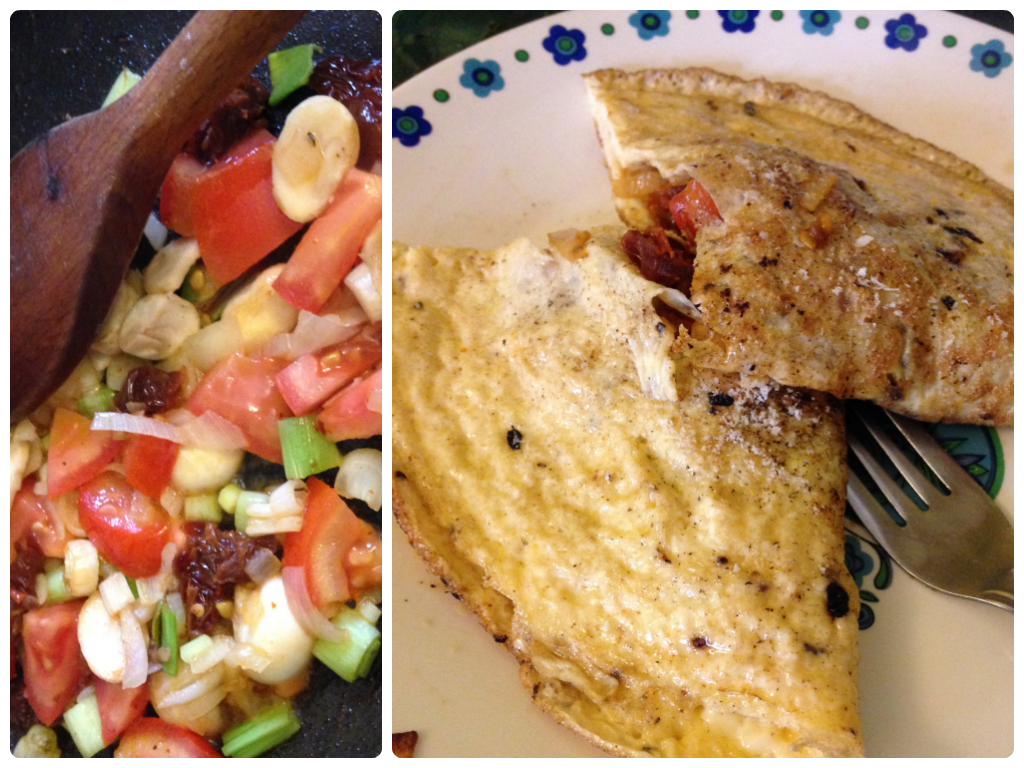 Omelette - healthy, clean breakfast ideas and recipes