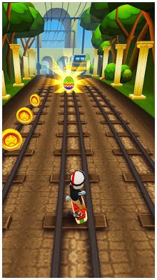 Download Subway Surfer - Gank Grafitty di kerjar polisi