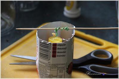 jak samemu zrobić świecę, how to make a candle