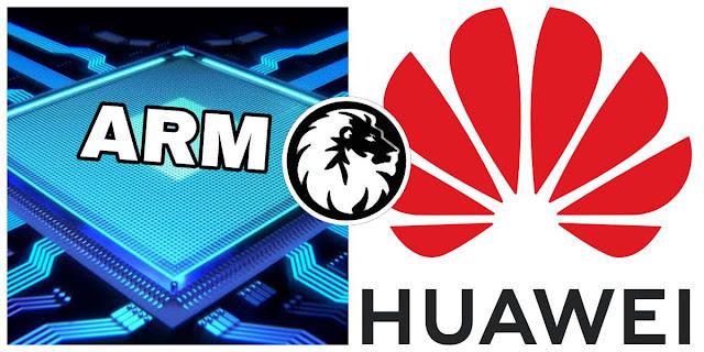 شركة ARM تسحب رخصها من هواوي