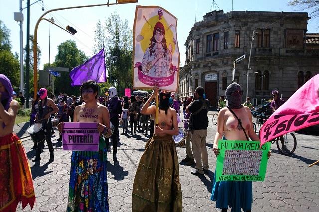 Abandono del gobierno los derechos de mujeres