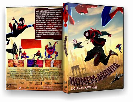 CAPA DVD – Homem Aranha No Aranhaverso – ISO