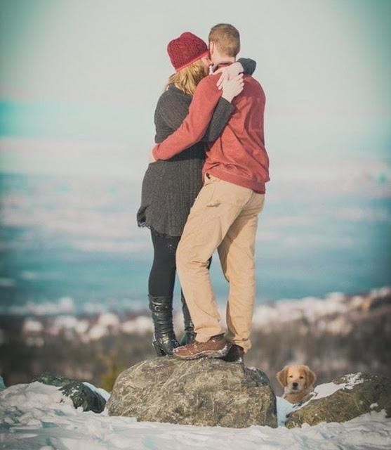 Quando a postura do cão é melhor que a de seus donos