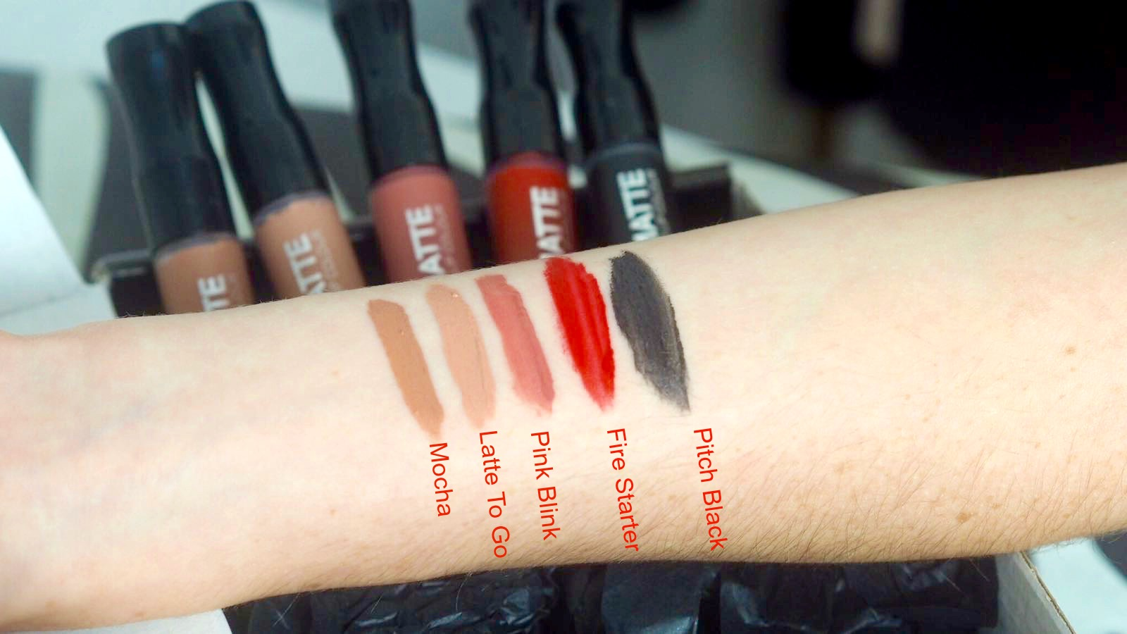 Rimmel Stay Matte Lipsticks