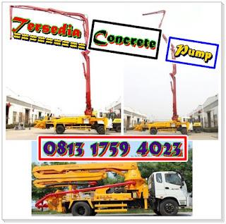 Harga Sewa Concrete Pump Depok
